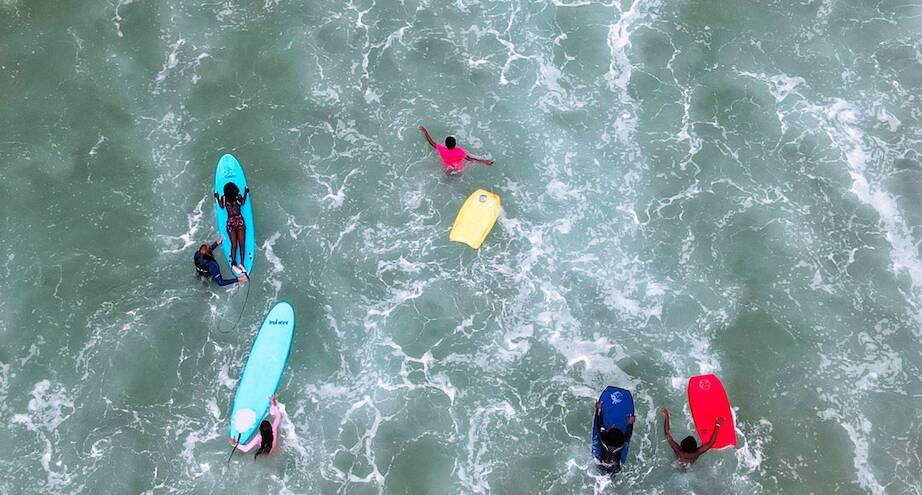 Фото дня: открытие пляжей Рио