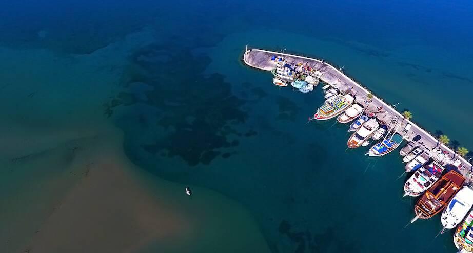Фото дня: побережье Эгейского моря в Турции