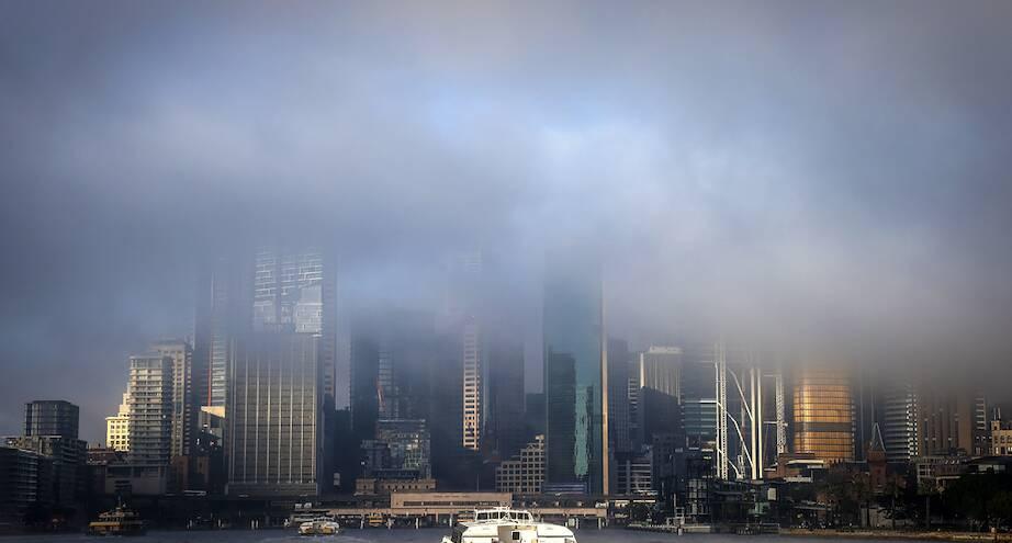 Фото дня: туман над Сиднеем