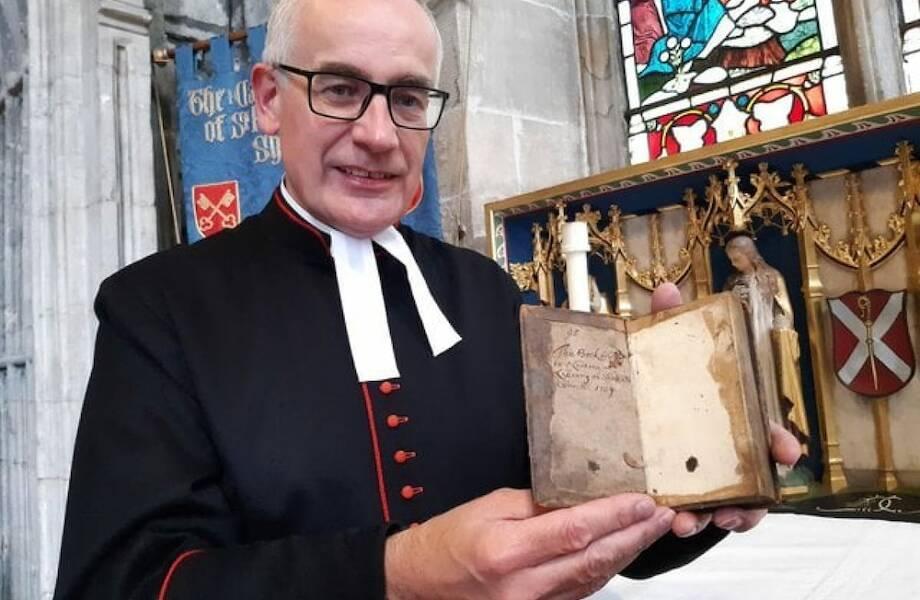 В английскую библиотеку отдали книжку, которую взяли почитать более трехсот лет назад