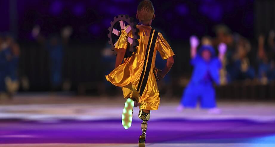 Фото дня: открытие Паралимпийских игр