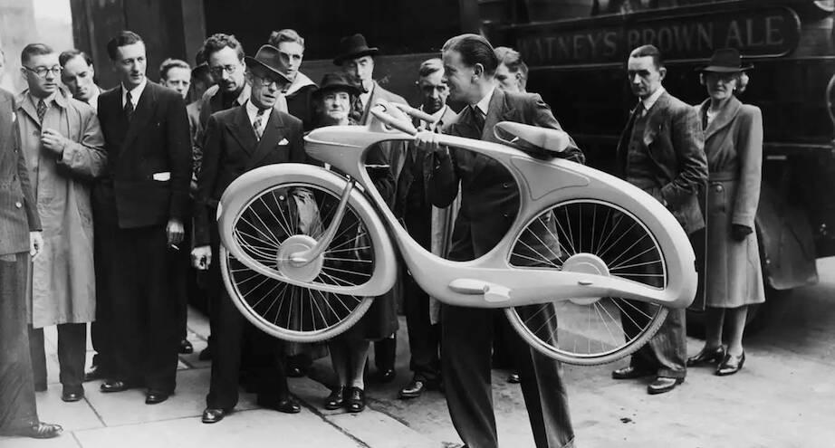 Фото дня: велосипед, созданный в 1946 году