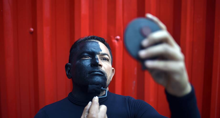 Фото дня: бразильский уличный артист