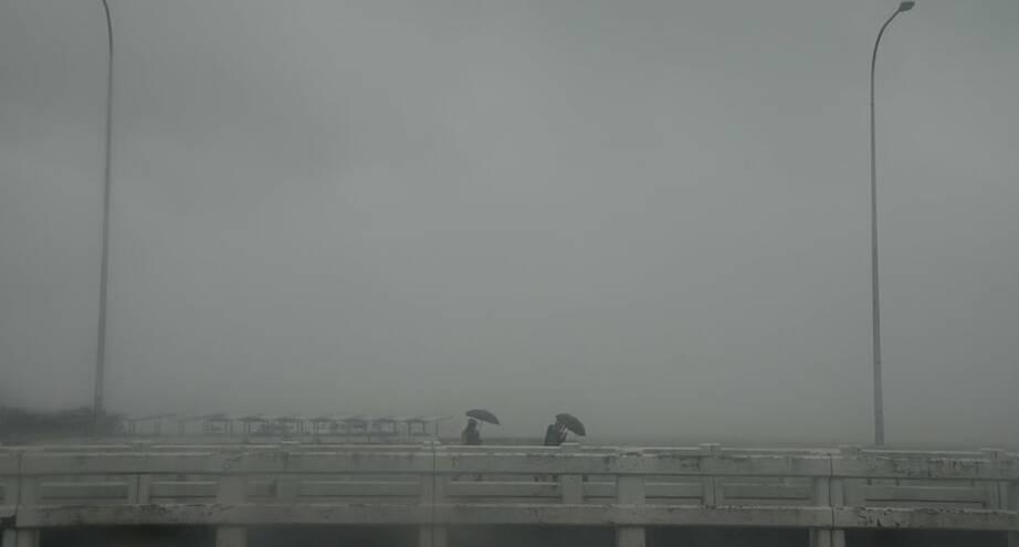 Фото дня: сильный ливень в Маниле