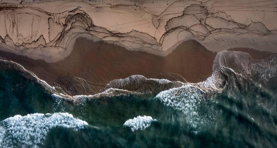 Фото дня: разлив нефти недалеко от Калифорнии