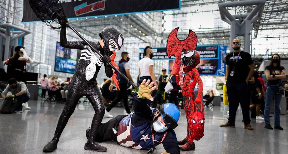 Фото дня: Comic Con в Нью-Йорке