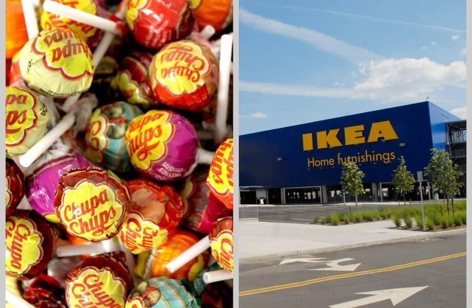 От IKEA до Chupa Chups: 14 брендов, которые ассоциируются с местами, где их производят