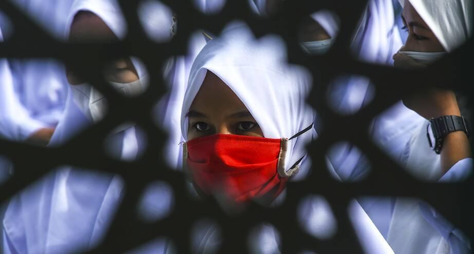 Фото дня: ученики мусульманской школы