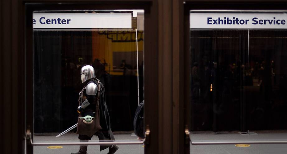Фото дня: кого только не встретишь в метро Нью-Йорка